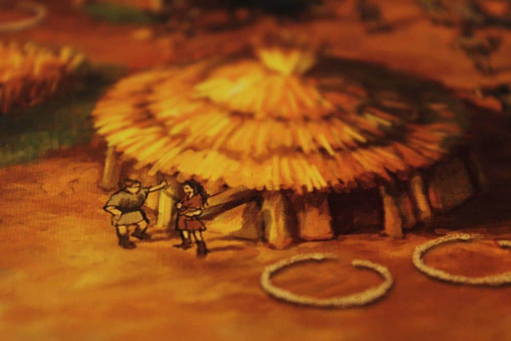 ボードゲーム「ストーンエイジ」の小屋