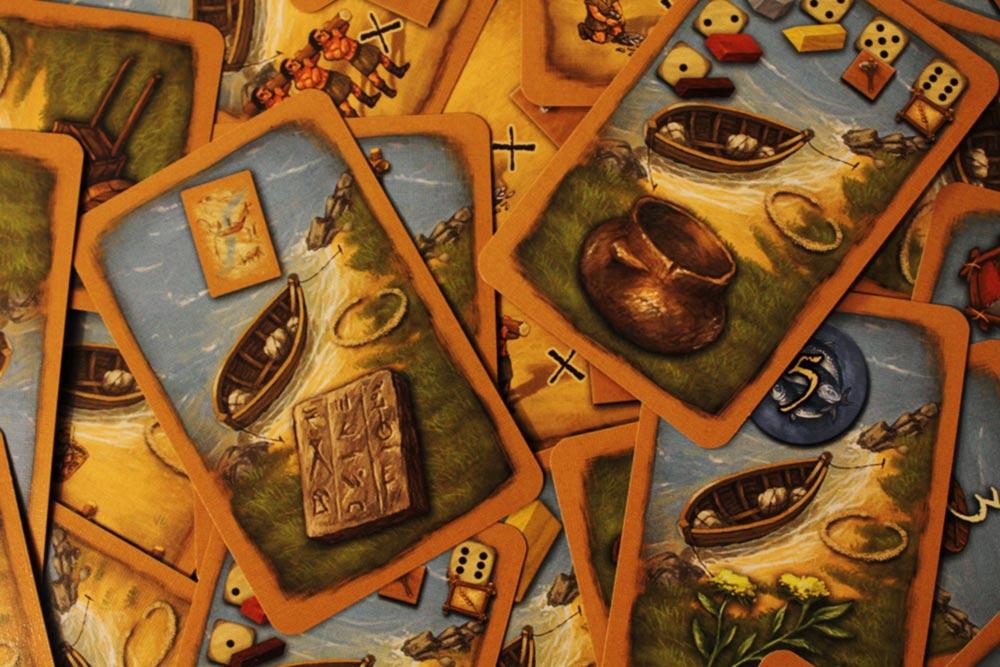ボードゲーム「ストーンエイジ」のカード