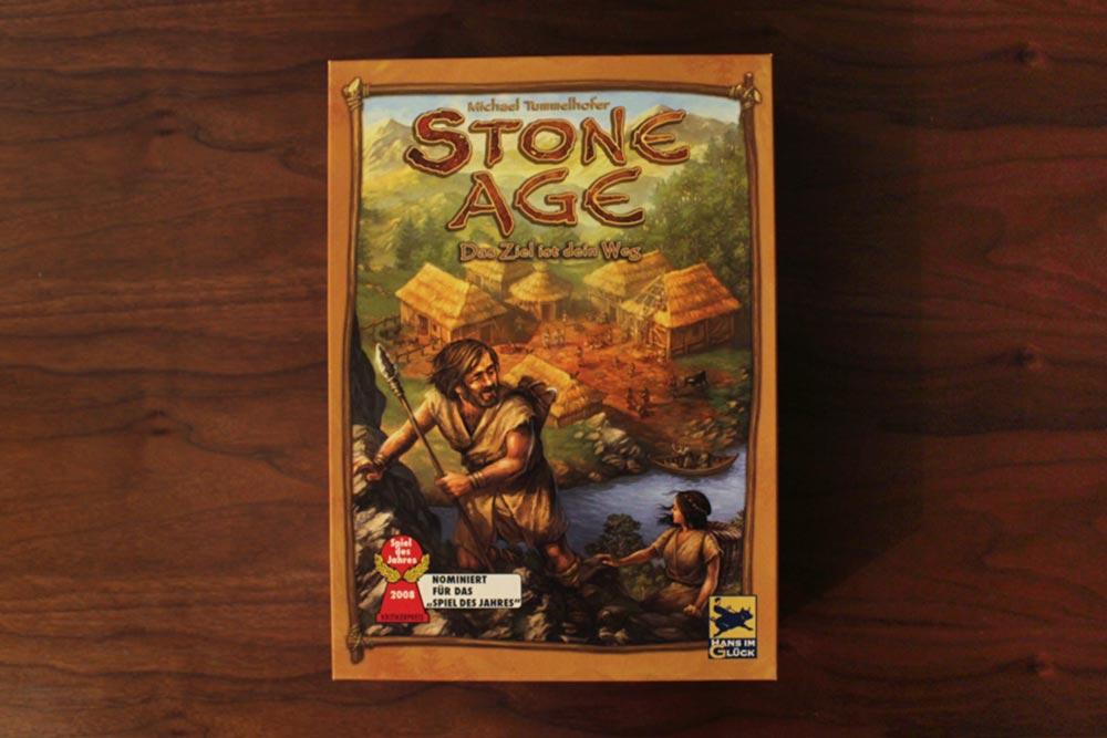 ボードゲーム「ストーンエイジ」の箱表面