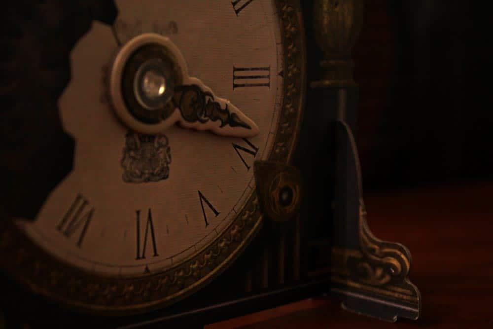 ボードゲーム「ミステリウム」の時計
