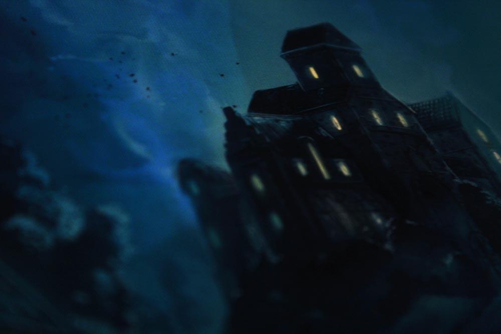 ボードゲーム「ミステリウム」の建物イラスト