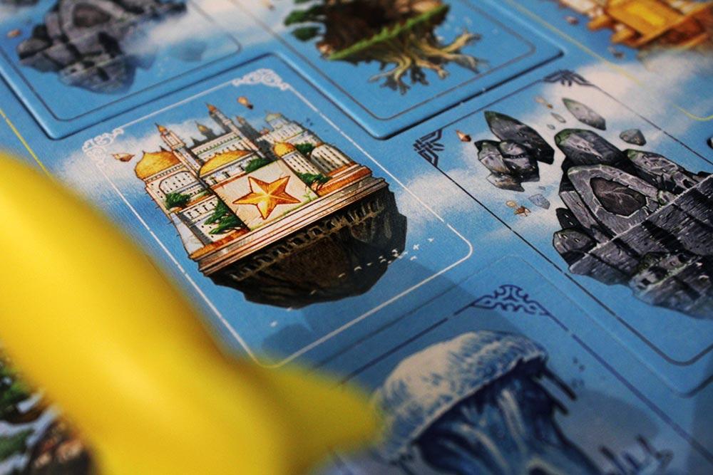 ボードゲーム「ソレニア」の浮遊都市