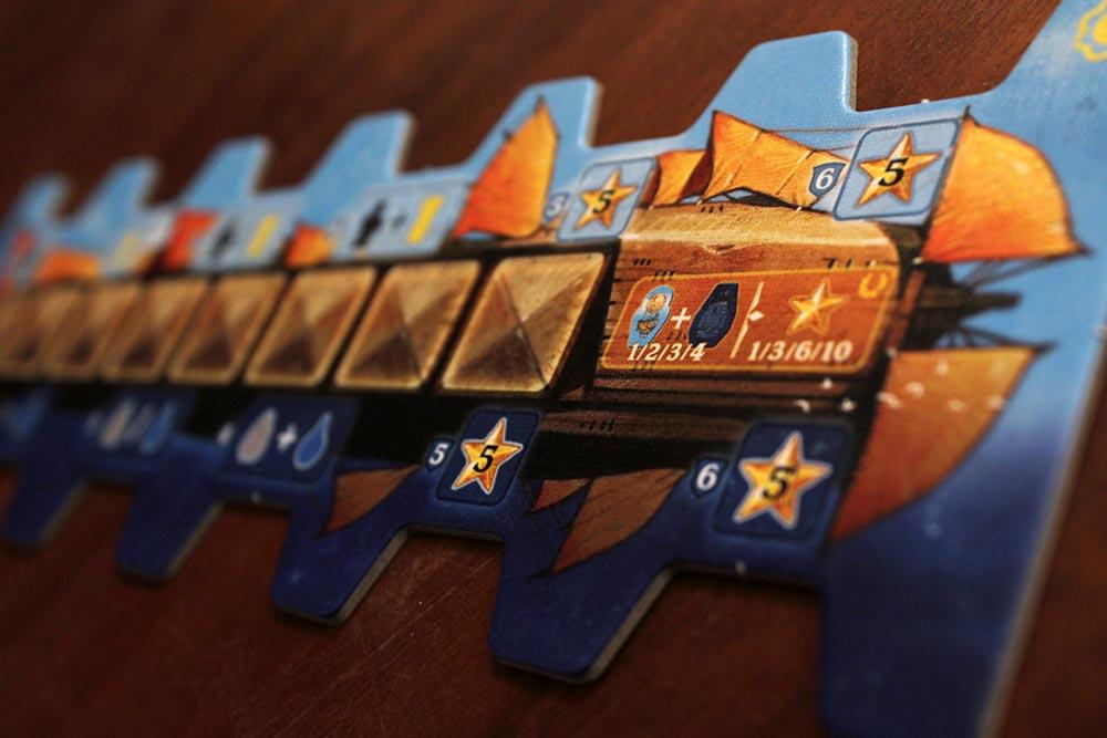 ボードゲーム「ソレニア」の輸送船
