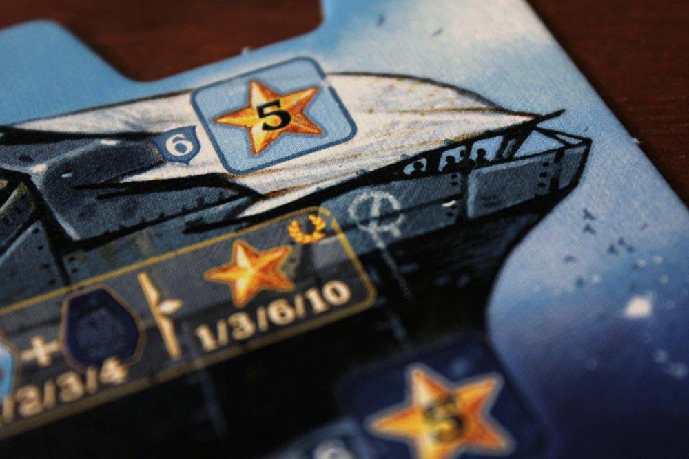 ボードゲーム「ソレニア」の輸送船拡大