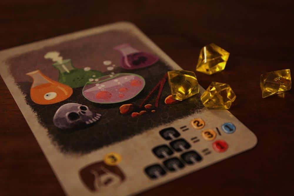 ボードゲーム「アンバー」の錬金術