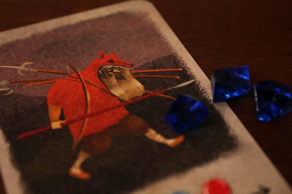 ボードゲーム「アンバー」の旅人