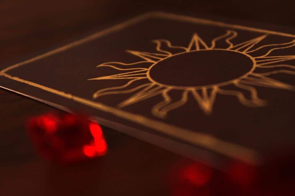 ボードゲーム「アンバー」の赤い琥珀
