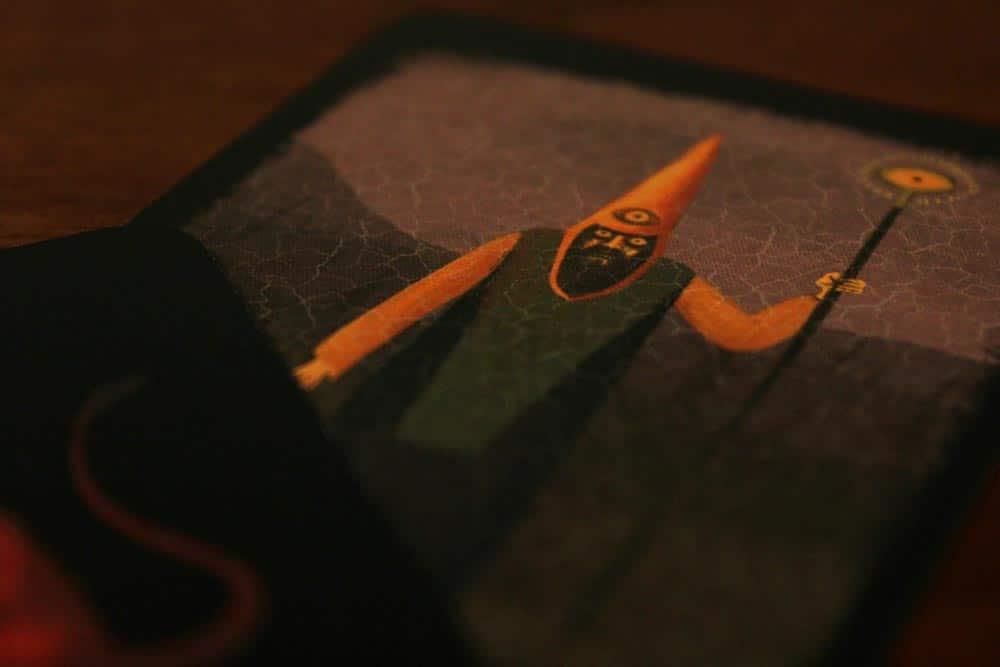 ボードゲーム「アンバー」の預言者