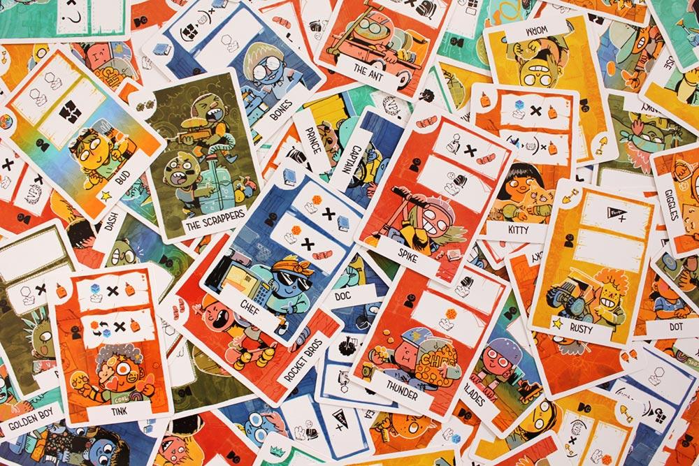 ボードゲーム「FORT」のキッズカード
