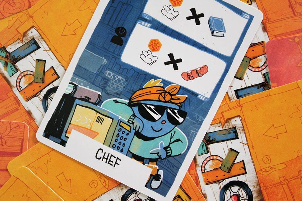ボードゲーム「FORT」のカード「CHEF」