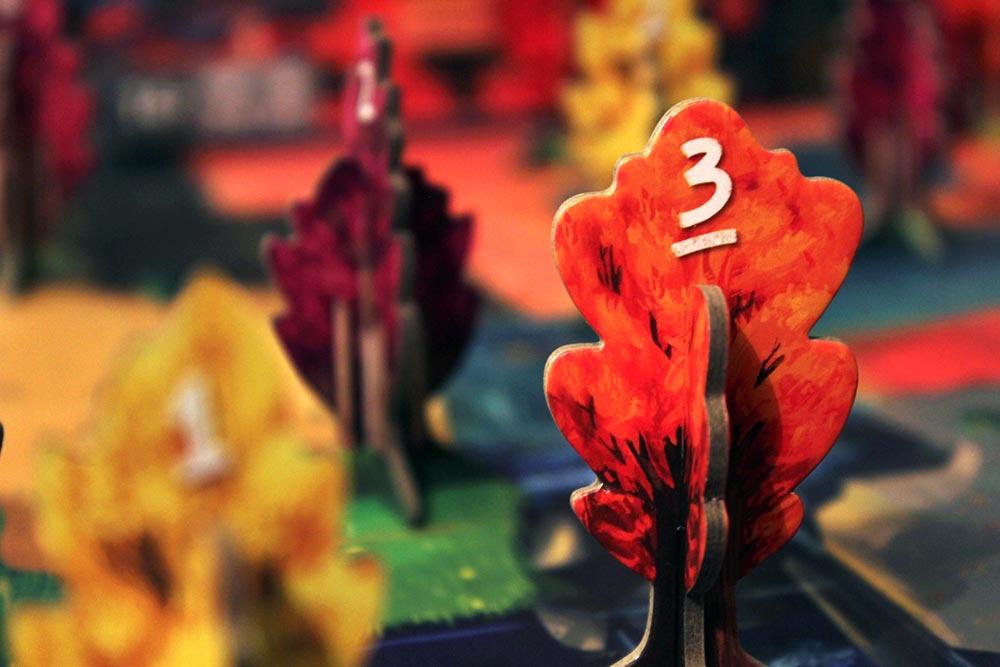 ボードゲーム「BOSK」の春のイメージ1