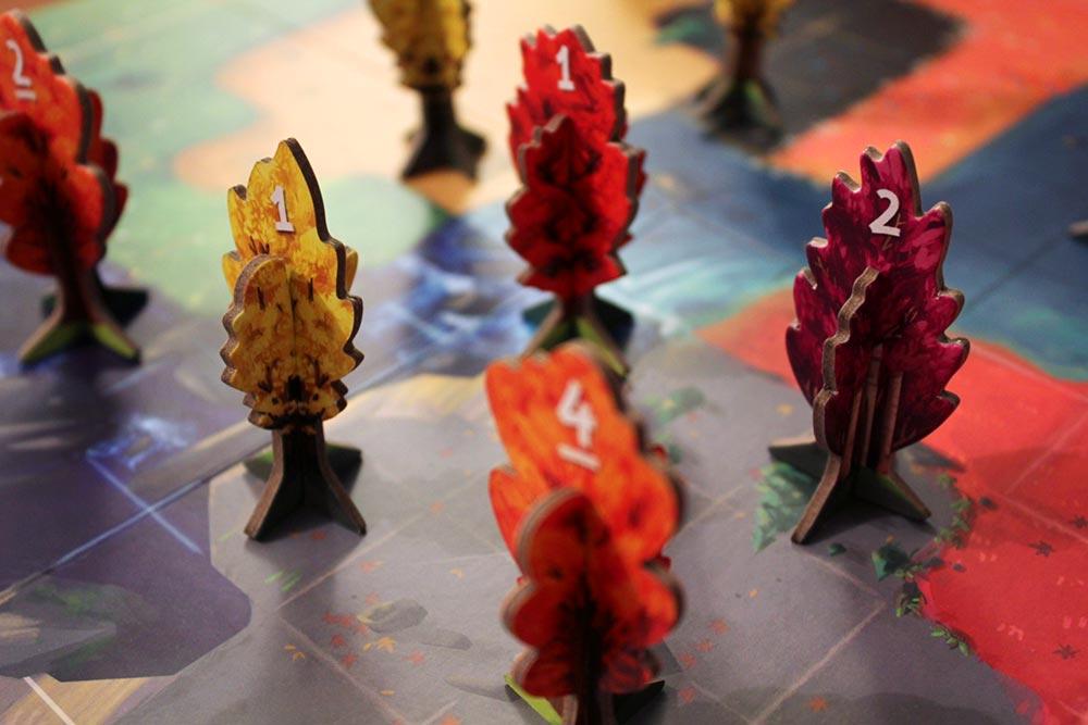 ボードゲーム「BOSK」の春のイメージ3