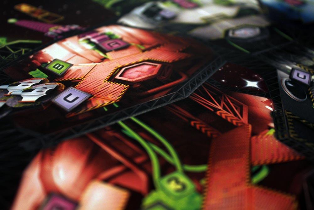 ボードゲーム「SPACE ALERT」のボード拡大