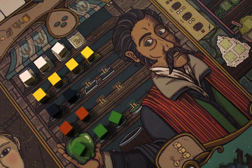 ボードゲーム「フューダム」の商人ギルド