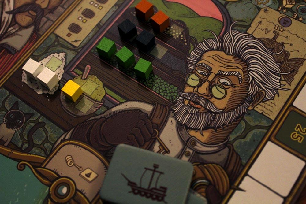ボードゲーム「フューダム」の錬金術師ギルド