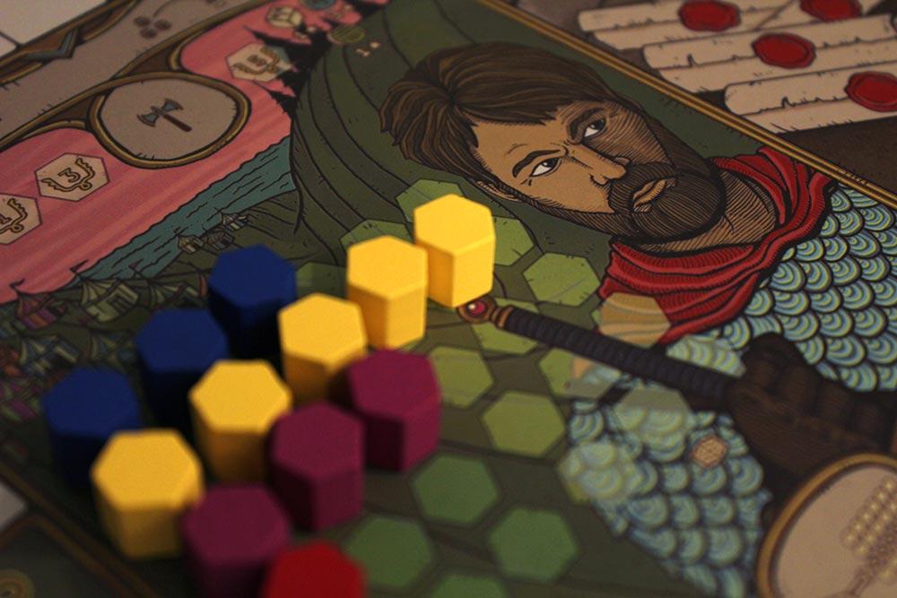 ボードゲーム「フューダム」の騎士ギルド