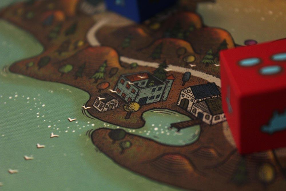 ボードゲーム「フューダム」の路線
